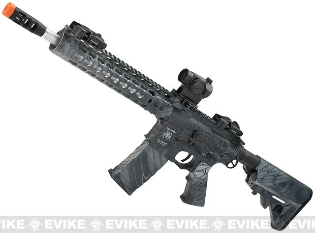 z APS Silver Edge Gearbox Full Metal 10 M4 Airsoft AEG Rifle (Color: Kryptek Typhon)