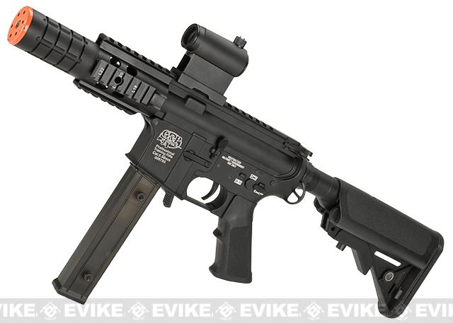 Evike Custom G&P Class I 9mm M4 Patriot Airsoft AEG Rifle (Package: Gun Only)