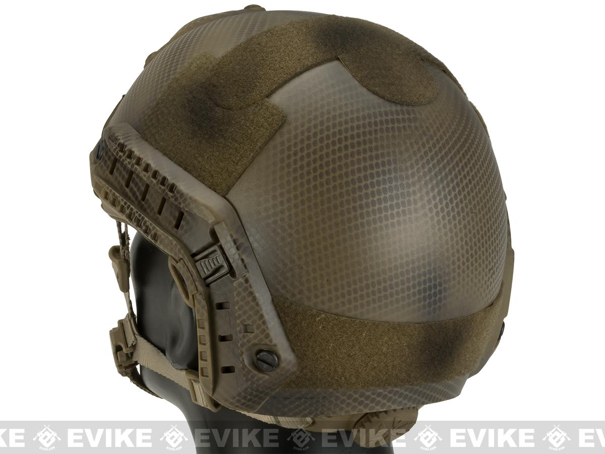 Emerson Bump Type Tactical Airsoft Helmet (MICH Ballistic Type / Advanced / Tan Navy Seal)
