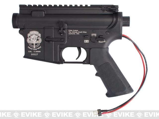 G&P Complete Special Ops M4 Metal Receiver & Gearbox Airsoft AEG ProKit (G&P USA) Rear Wire / Black