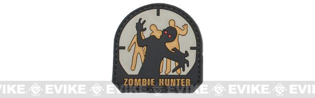 Zombie Hunter IFF PVC Rubber Velcro Patch - 50mm / SWAT