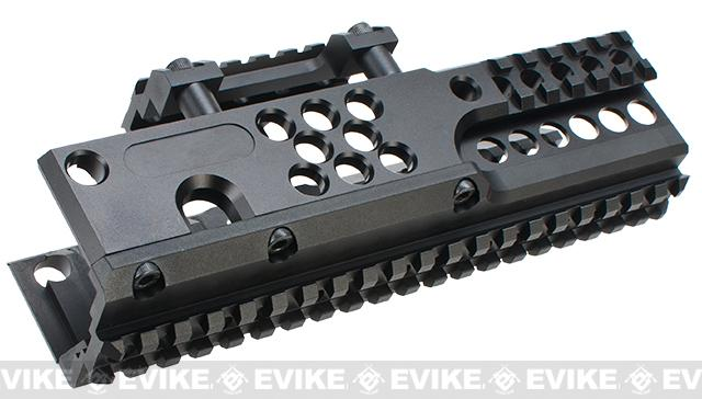 Avengers CNC Rail System for PKM / HMG Series Airsoft AEG Machine Guns