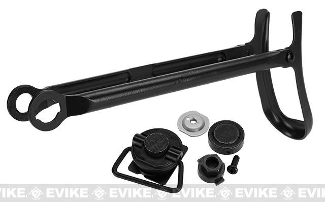 CYMA Complete Metal Under-Fold Folding Stock for AK Series Airsoft AEG Rifles