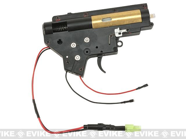 JG Complete 8mm Ver. 2  Gearbox for M4/M16 Series Airsoft AEG - Rear Wired