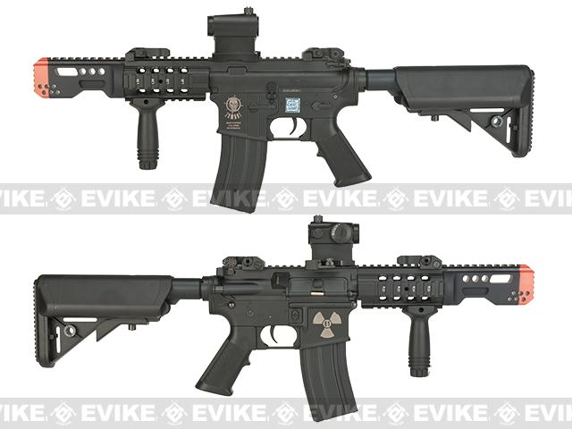 Bone Yard - Echo1 USA Zombat Stryker CQC M4 Airsoft AEG Rifle (Store Display, Non-Working Or Refurbished Models)