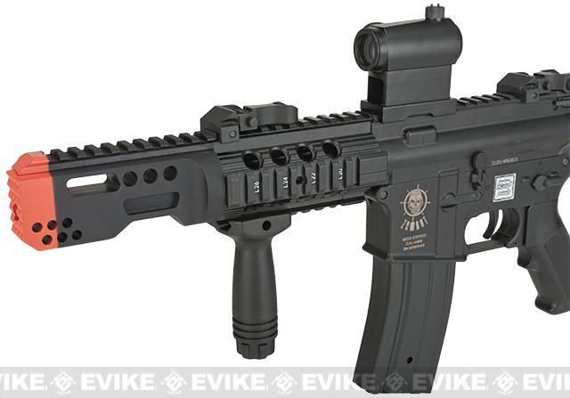 Echo1 USA Zombat Stryker CQC M4 Airsoft AEG Rifle - Black