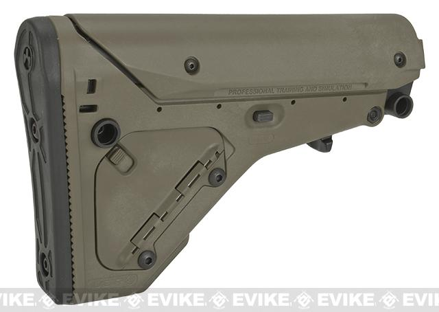 PTS Licensed UBR (Utility Battle Rifle) Stock For M4 / M16 Series Airsoft AEG - Dark Earth