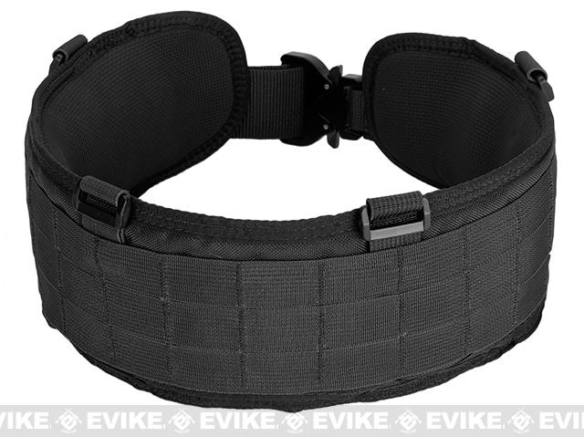 HSGI SureGrip Padded Military Belt - Black (Size: 46)