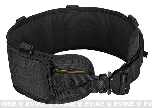 HSGI SureGrip Padded Military Belt - Black (Size: 35.5)