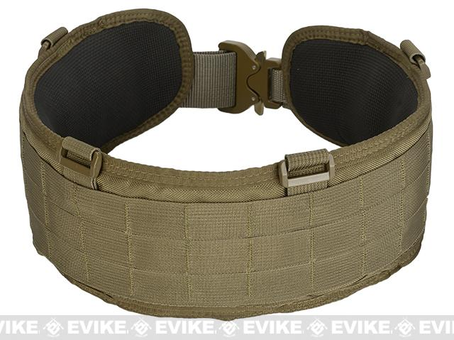 HSGI SureGrip Padded Military Belt - Coyote Brown (Size: 41.5)
