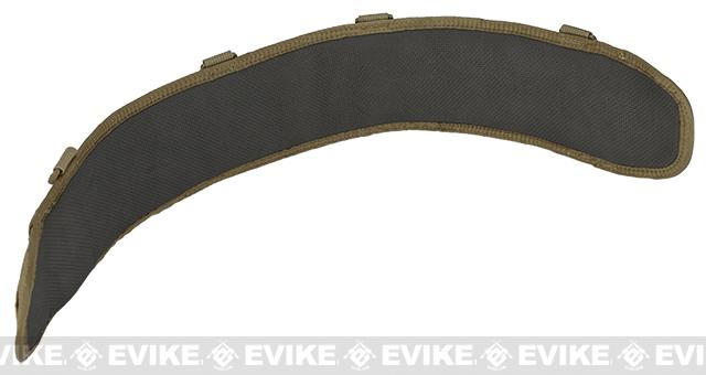 HSGI SureGrip Padded Military Belt - Coyote Brown (Size: 35.5)