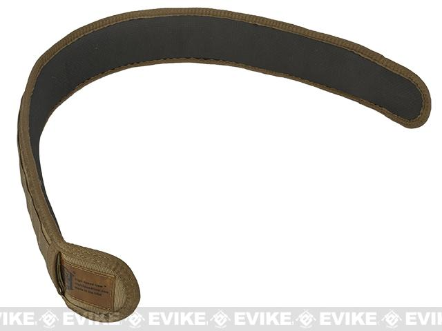 HSGI SlimGrip Padded Duty Belt - Coyote Brown (Size: 35.5)