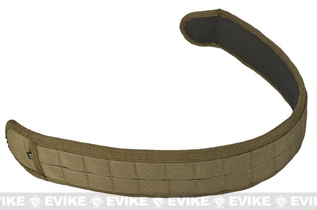 HSGI SlimGrip Padded Duty Belt - Coyote Brown (Size: 41.5)