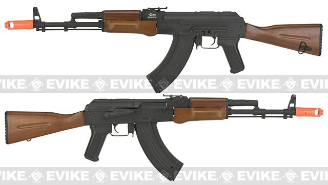 JG  Electric Blowback AK74 Airsoft AEG Rifle with Metal Body and Real Wood Furniture