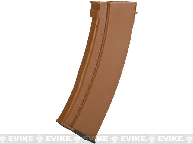 Matrix 550rd Hi-Cap Polymer Magazine for Airsoft AK Series AEG - Bakelite