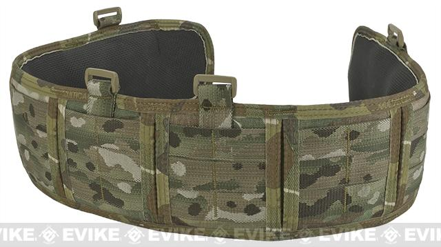 HSGI Slotted Sure-Grip Padded Duty Belt - Multicam (Size: Medium 35.5)