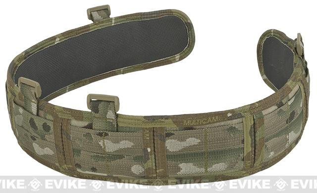 HSGI Slotted Slim-Grip Padded Duty Belt - Multicam (Size: Large)