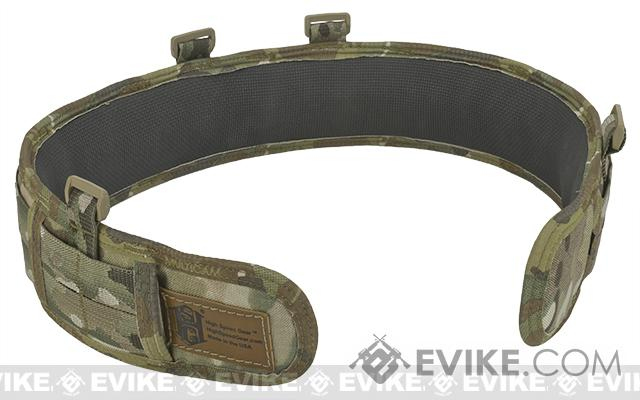 HSGI Slotted Slim-Grip Padded Duty Belt - Multicam (Size: X-Large)