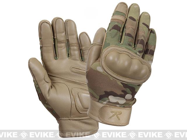 Rothco Hard Knuckle Tactical Gloves - Multicam (Size: Large)