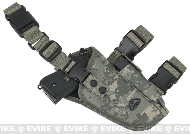 Matrix Deluxe Tactical Drop Leg Holster - Right (ACU)