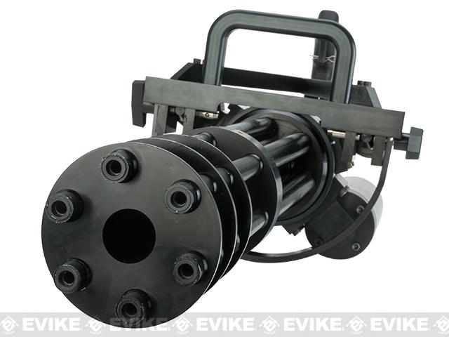 Classic Army Vulcan M134-A2 Gatling Airsoft Minigun (550 FPS / CO2 / 6 Barrel)