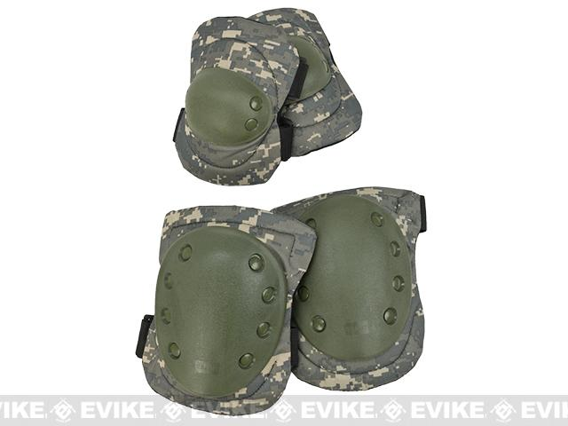 Avengers Special Operation Tactical Knee Pad / Elbow Pad Set - ACU