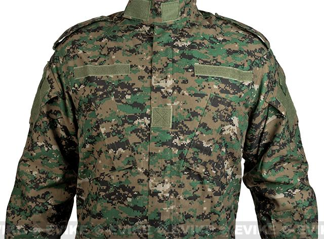 Matrix USMC Style Digital Woodland Battle Uniform Set (Size: Medium)