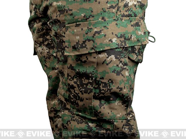 Matrix USMC Style Digital Woodland Battle Uniform Set (Size: Small)