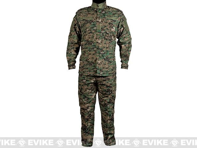 Matrix USMC Style Digital Woodland Battle Uniform Set (Size: 2XL)