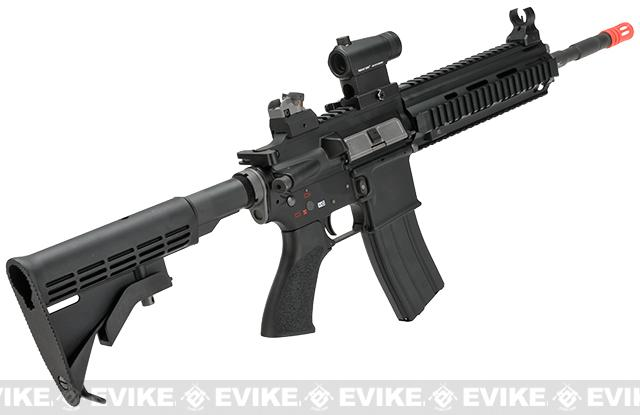 (AIRSOFTCON EPIC DEAL) WE-Tech Open Bolt M4-SOL Carbine Airsoft GBB Rifle - Black