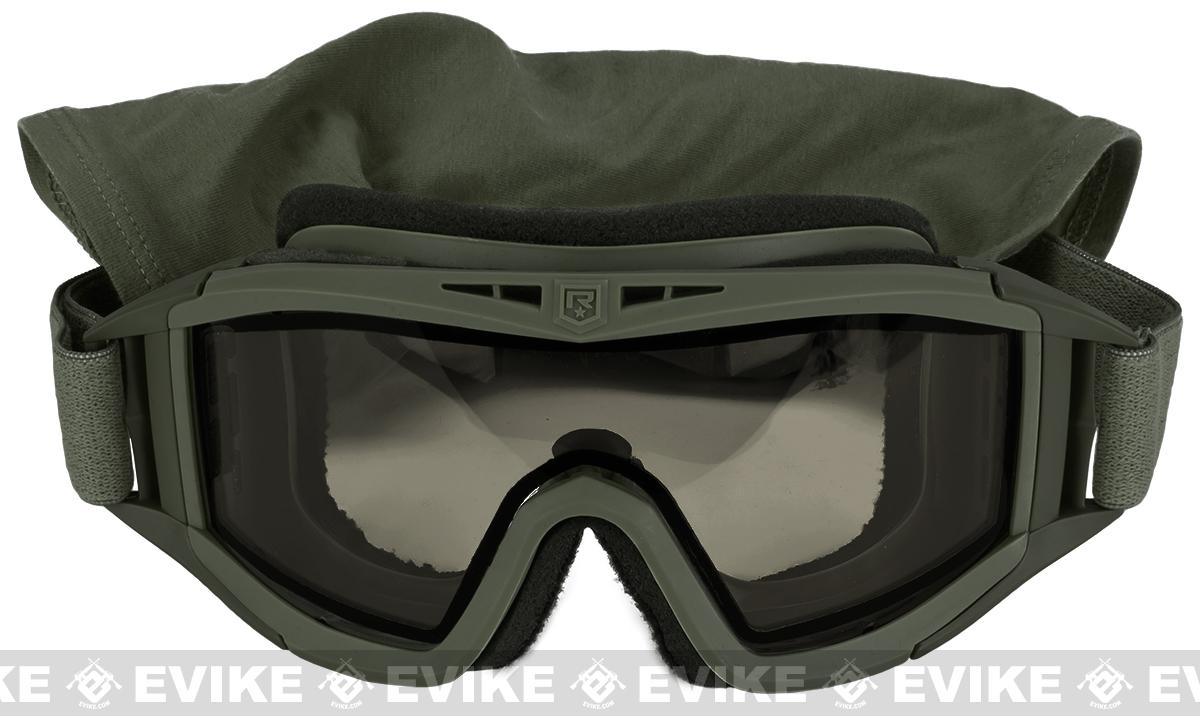 Revision Desert Locust Extreme Weather Basic Goggles - OD Green (Smoke)