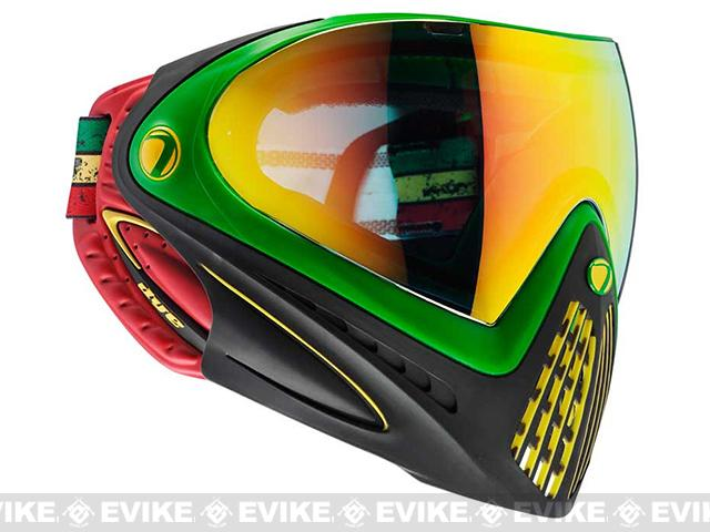 Dye i4 Pro Airsoft Full Face Mask (Style: Rasta / Thermal Lens)