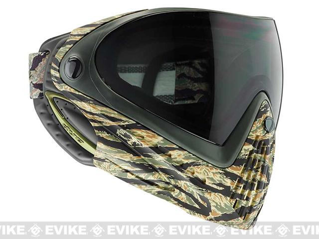 Dye i4 Pro Airsoft Full Face Mask - Tiger / Thermal Lens