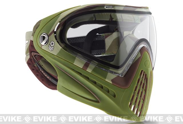 Dye i4 Pro Airsoft Full Face Mask - Barracks Olive / Thermal Lens
