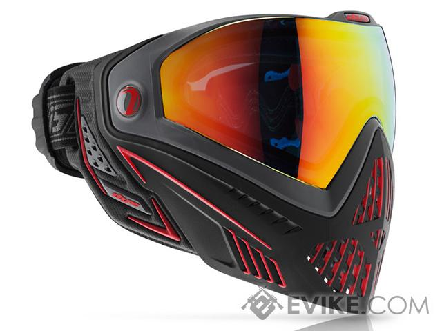 Dye i5 Pro Airsoft Full Face Mask (Style: Fire / Black / Red)
