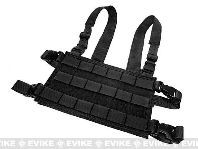 HSGI Light Chest Rig MOLLE Platform - Black