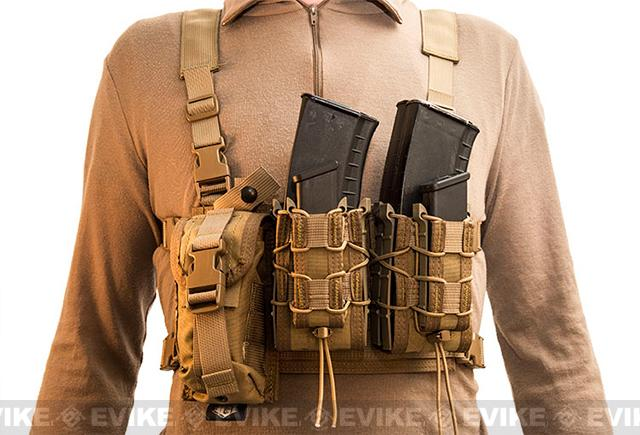 HSGI Light Chest Rig MOLLE Platform - Coyote