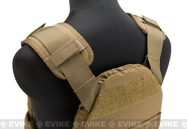 HSGI SPC Slick Plate Carrier - Coyote Brown (Medium)