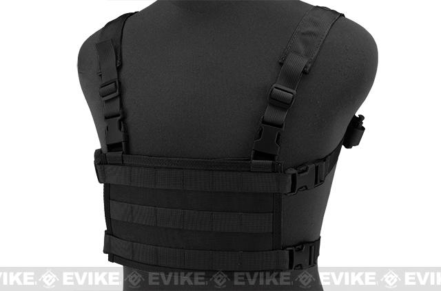 HSGI MPC Modular Plate Carrier- Black (Medium Carrier / Large Sure Grip)