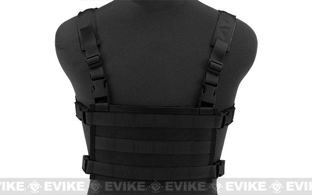 HSGI MPC Modular Plate Carrier - Black (Large Carrier / Large Sure Grip)