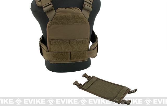 HSGI MPC Modular Plate Carrier- Coyote (Large Carrier / Small Sure Grip)
