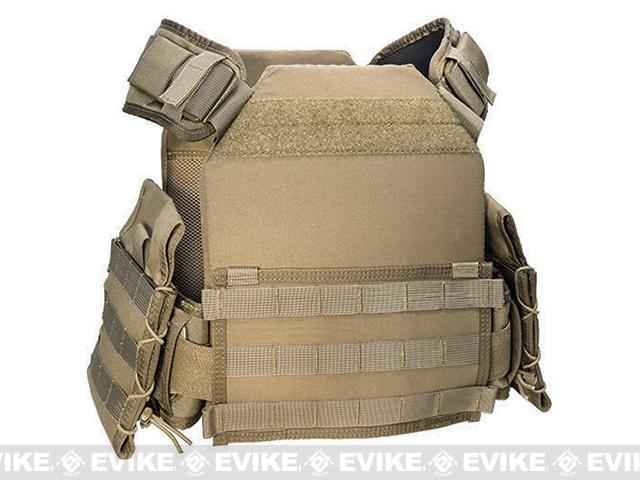 HSGI Adjustable Side Armor Plate Pouch (Pair) - Coyote Brown