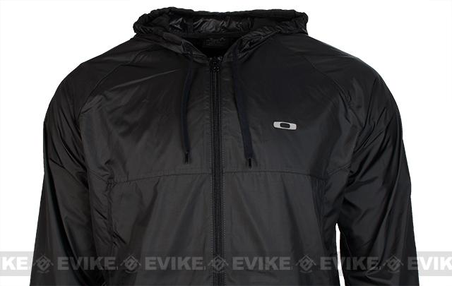 z Oakley Dally Windbreaker - Jet Black (Size: Medium)