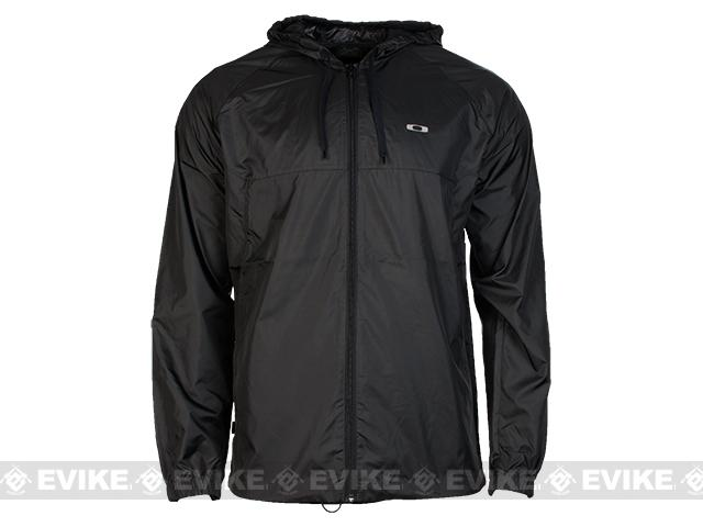 z Oakley Dally Windbreaker - Jet Black (Size: X-Large)