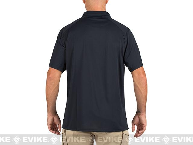 5.11 Tactical Helios Short Sleeve Polo - Dark Navy (Size: Large)