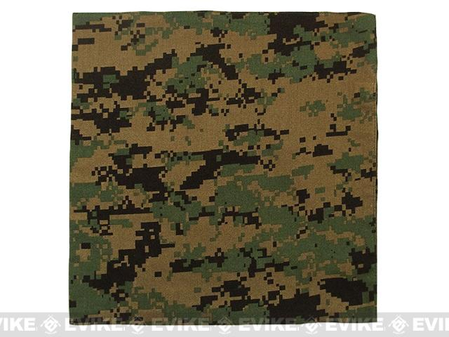 Premium 100% Cotton Digital Woodland / Woodland Marpat Bandana