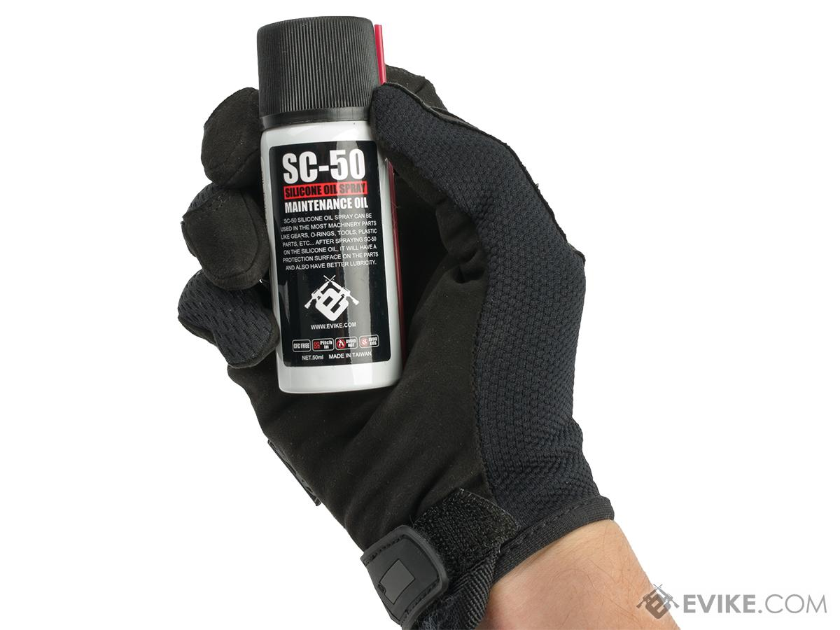 Evike.com All Purpose Silicone Lubricant Oil Spray for Airsoft / Firearm (Count: 1 Bottle)