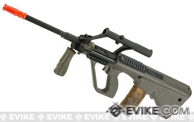 Bone Yard - APS Newest Generation Kompetitor Advanced AUG KU MIL Airsoft AEG Rifle (Store Display, Non-Working Or Refurbished Models)