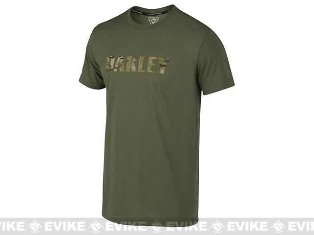 z Oakley MC T-Shirt - Worn Olive (Medium)
