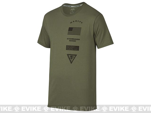 z Oakley Insignia T-Shirt - Worn Olive (Size: Medium)